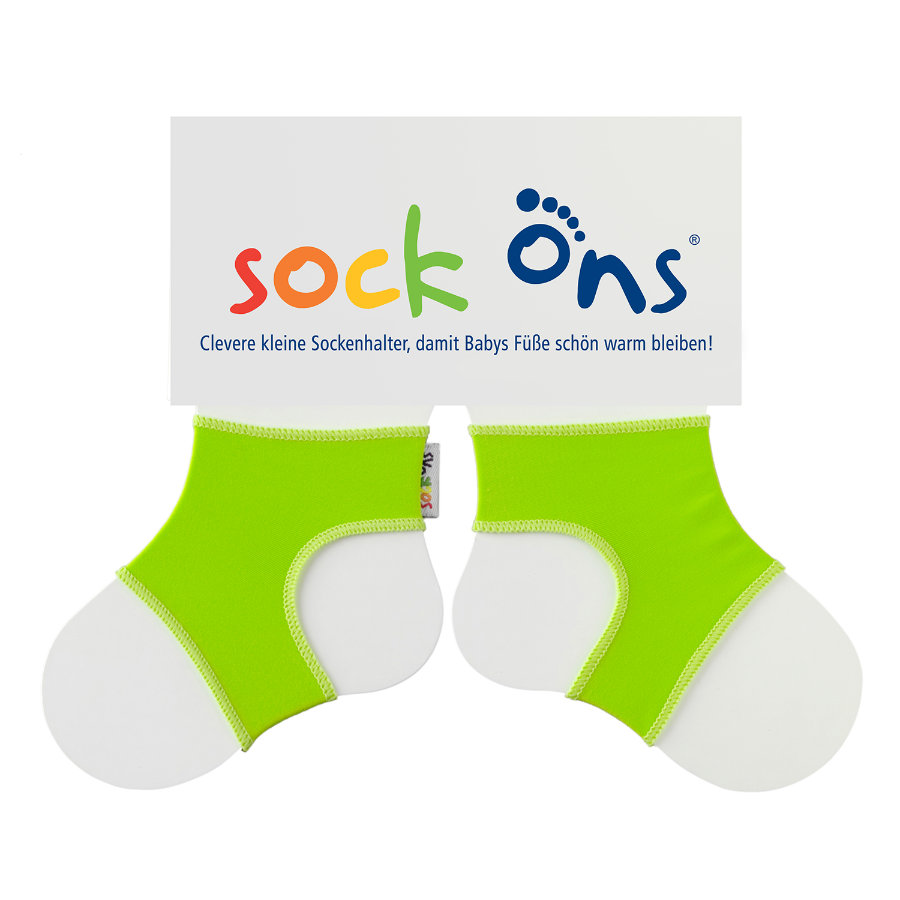 Sock Ons Brights green