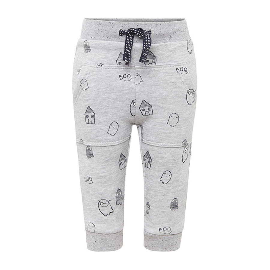 TOM TAILOR Boys Sweatpants Duch, szary.