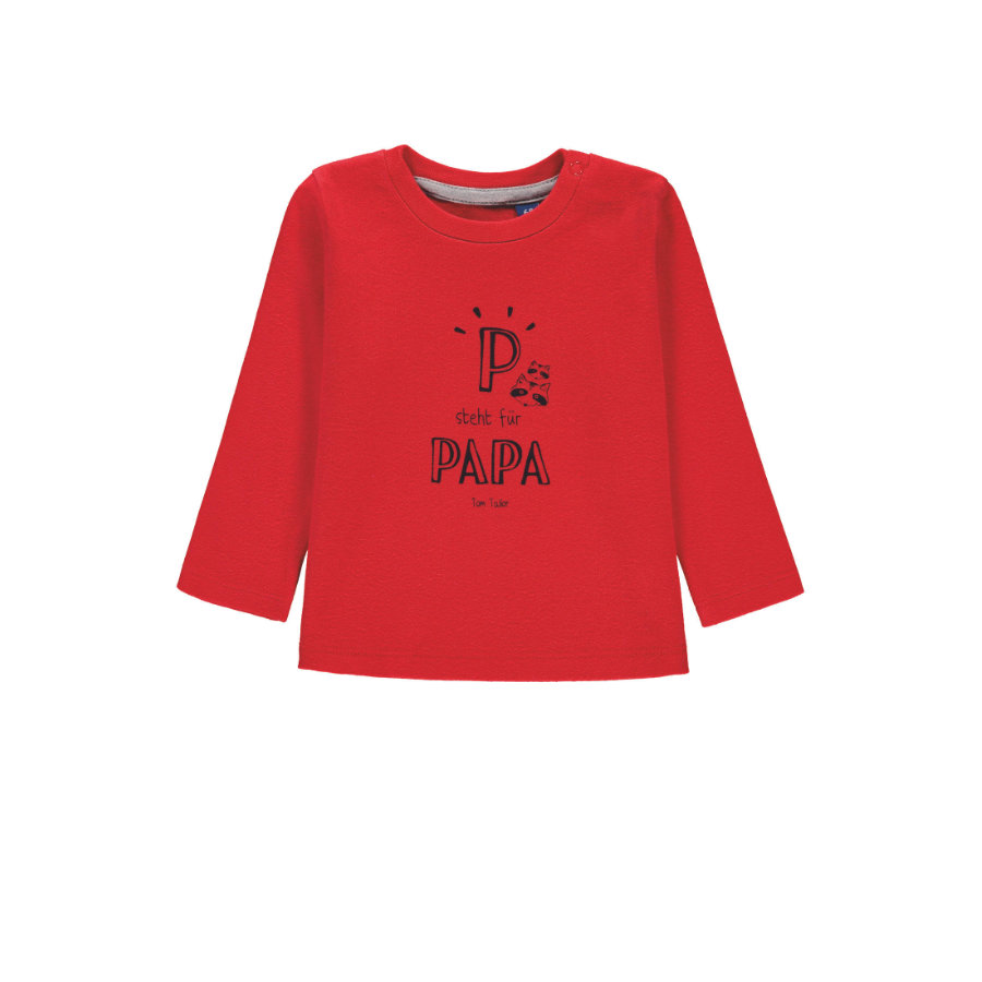 TOM TAILOR Langermet skjorte for gutter, rød