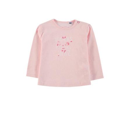 TOM TAILOR Girls Langarmshirt, rosa