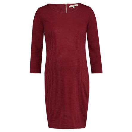 noppies těhotenské šaty Zinnia Dark Red