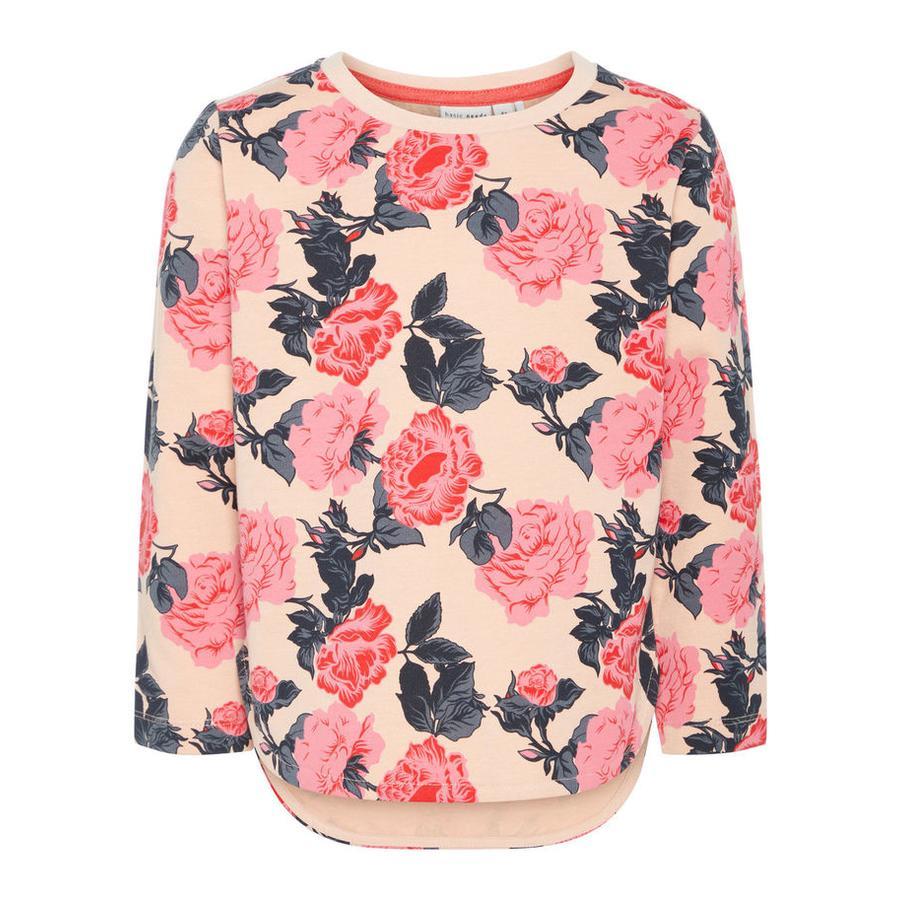name it Girl Sweatshirt Nmfvalba chmura różana