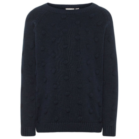 name it Girls Strickpullover Nmfnaplet dark sapphire