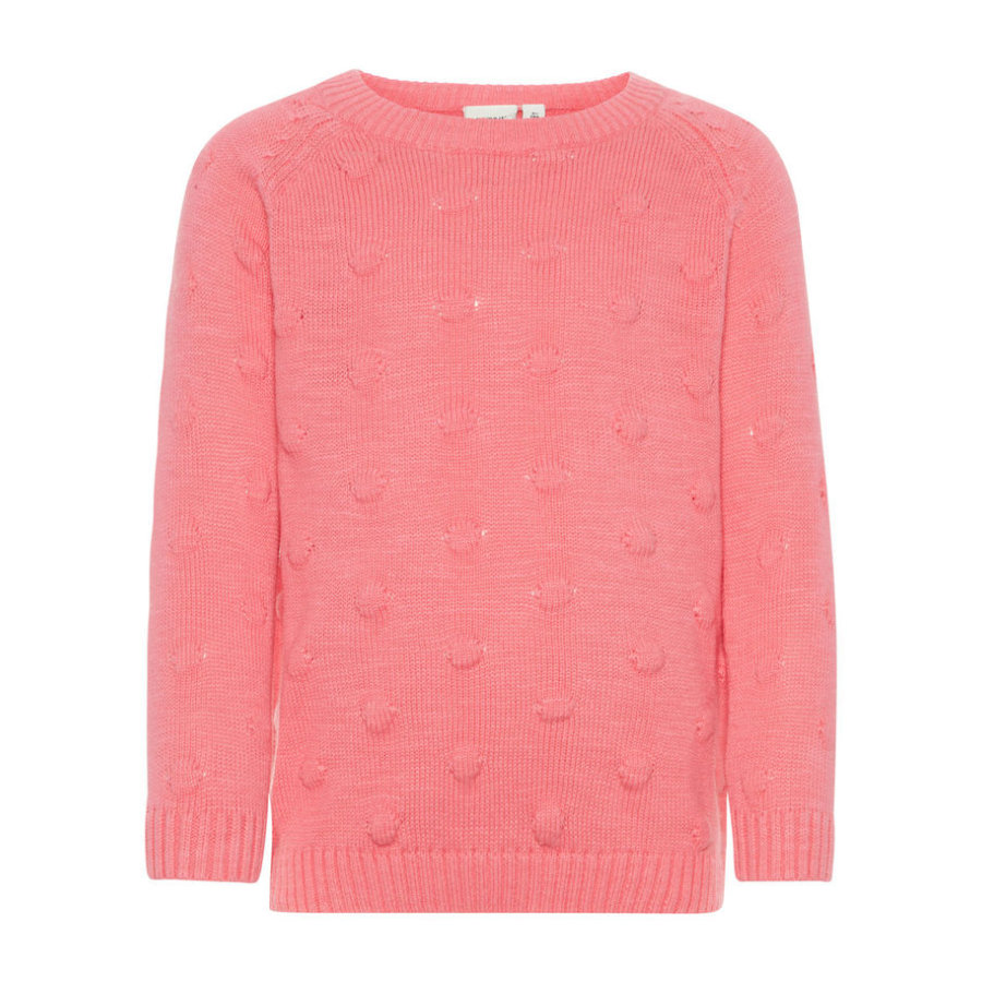 name it Girls Strickpullover Nmfnaplet bubblegum