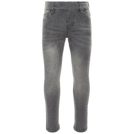 name it Jeans-Leggings Nmfpolly jean gris moyen