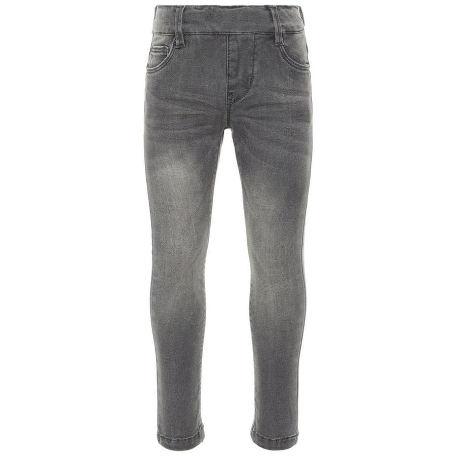 name it Jeans-Leggings Nmfpolly denim grigio medio denim