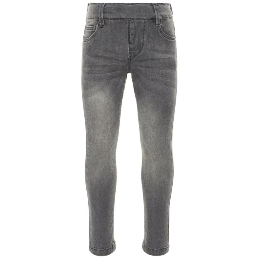 name it Jeans-Leggings Nmfpolly denim gris medio