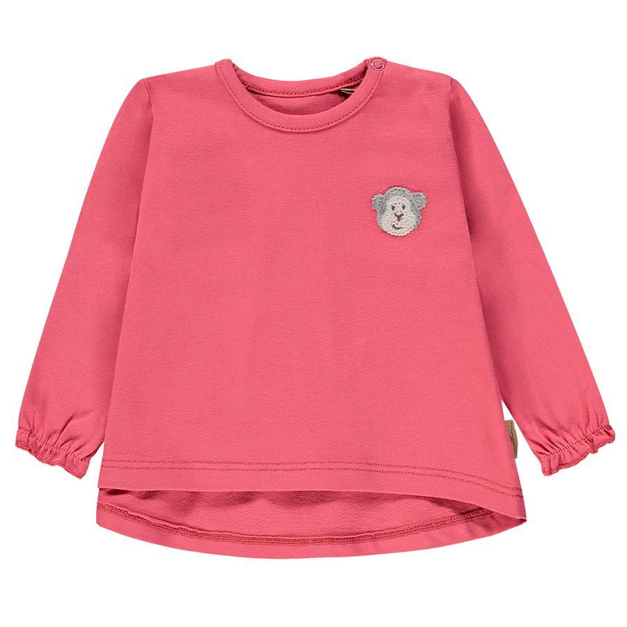 bellybutton Girl s Koszula z długim rękawem, różowa