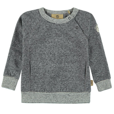 bellybutton Boys Sweatshirt, grau meliert