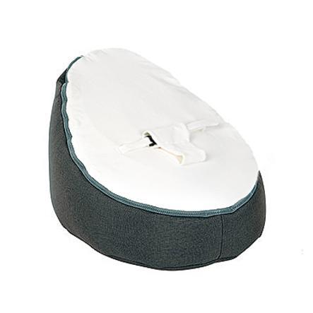 Doomoo Bean Bag Seat Original Color: Home White