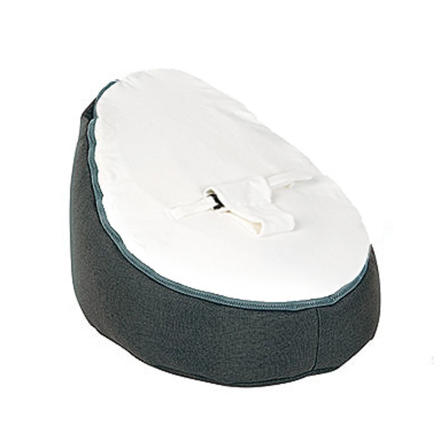 Doomoo Sitzsack Seat Original Farbe Home Weiß Anthrazit
