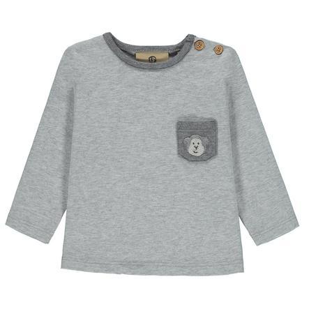 bellybutton Boys Shirt met lange mouwen, grijs gevlekt, grijs gevlekt