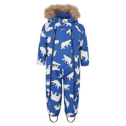 TICKET TO HEAVEN Snowoverall Baggie met afneembare capuchon, blauw
