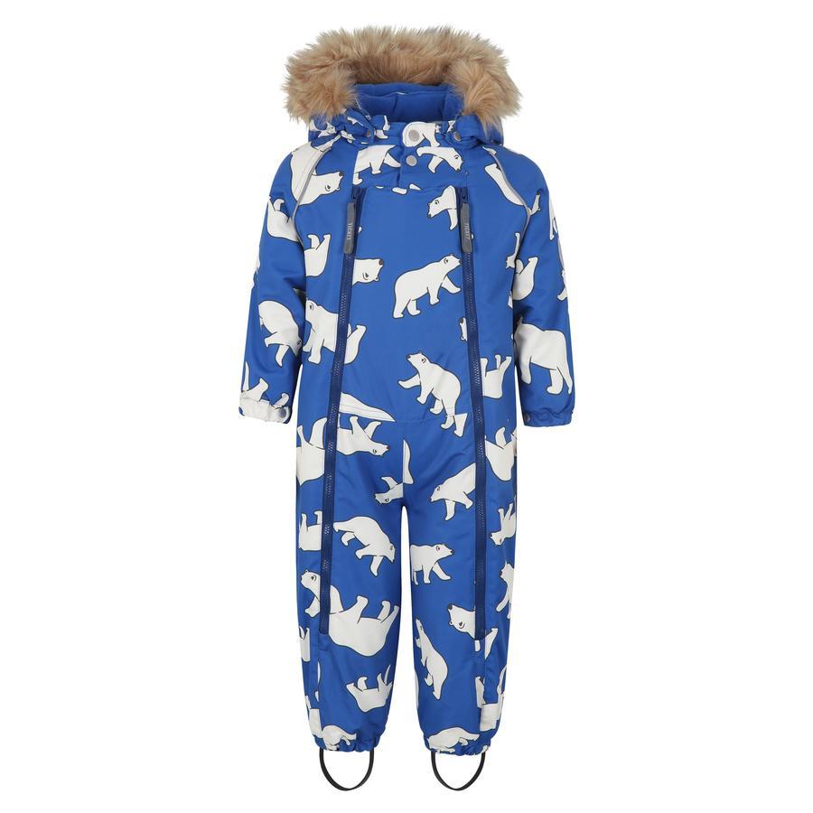 TICKET TO HEAVEN Buzo para nieve Baggie m. con capucha extraíble, azul