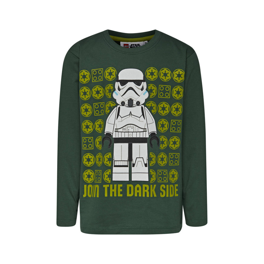 LEGO käyttää pitkähihaista paitaa LEGO® Star Wars ™ Liity tummanpuoleiseen vihreään