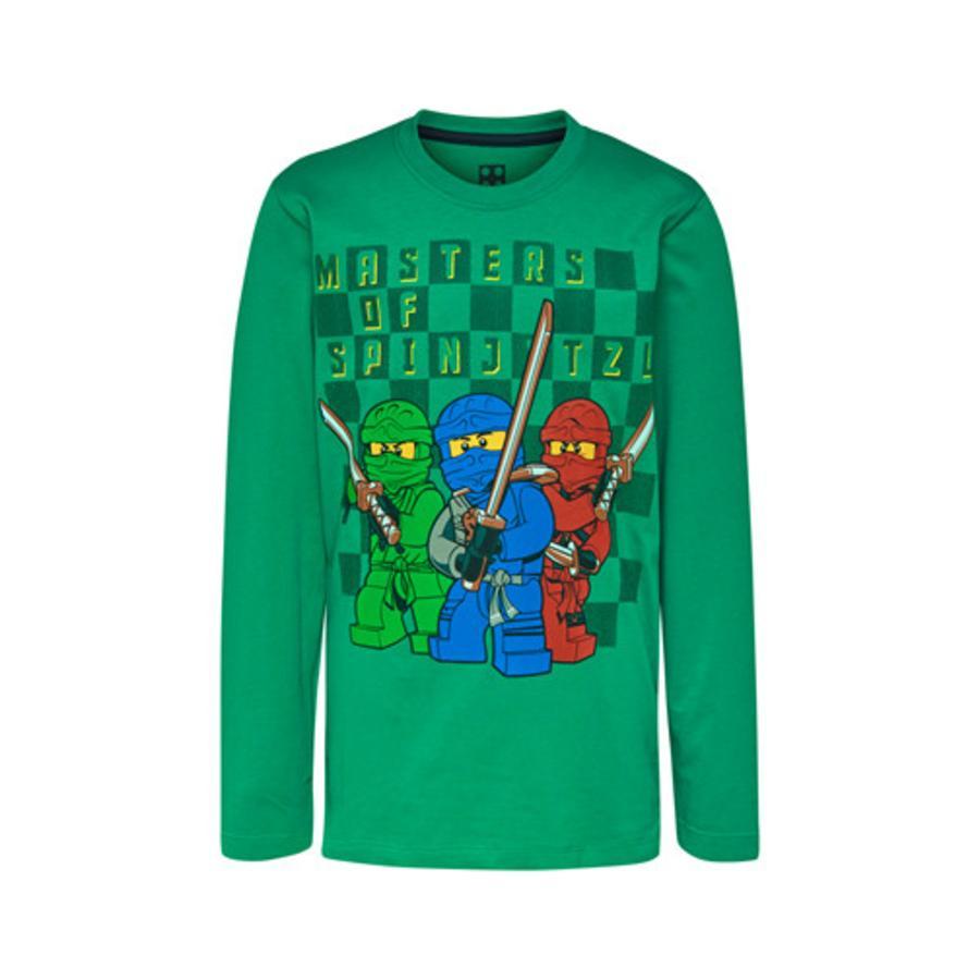 LEGO wear Langarmshirt LEGO Ninjago 3 Ninjas Lime Green