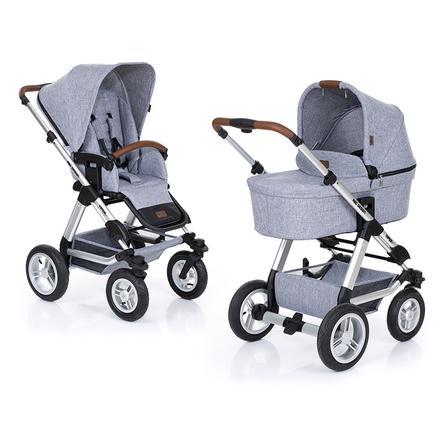 ABC DESIGN Cochecito combinable Viper 4 con asiento deportivo y capazo graphite grey