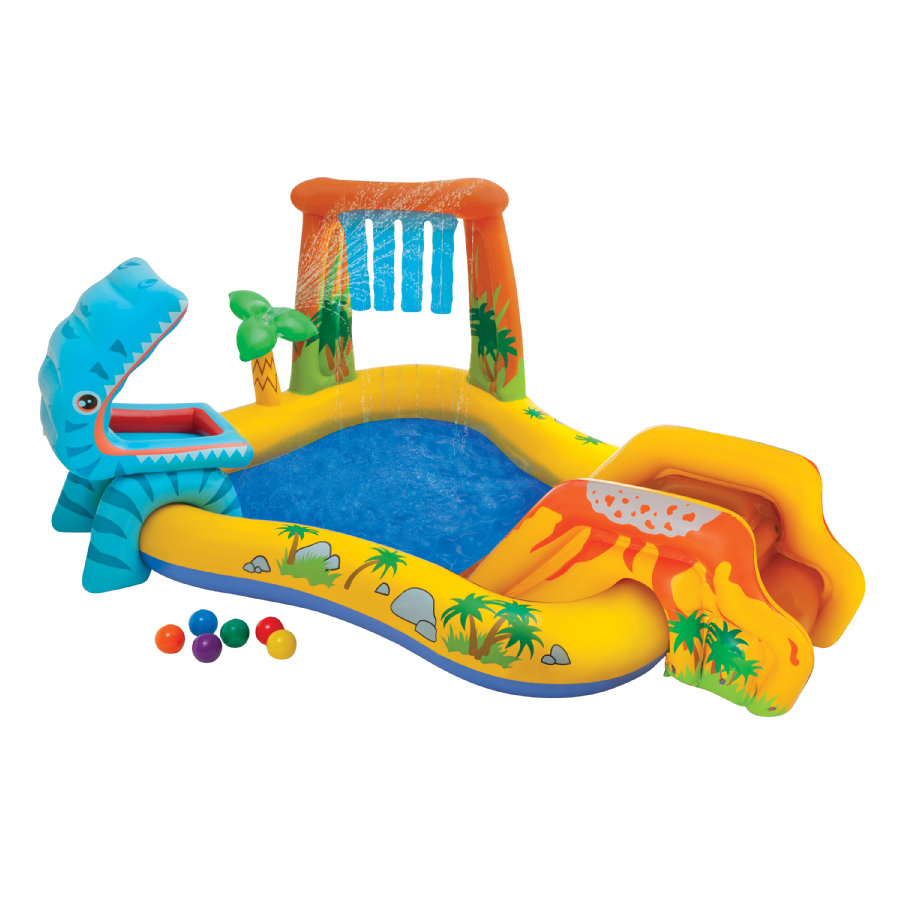 INTEX® Piscine enfant gonflable dinosaure 249x191 cm 57444