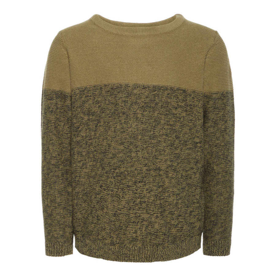 name it Boys Pullover Vernard burnt olive
