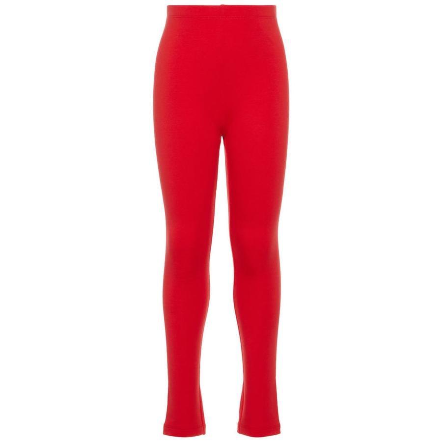 name it Leggings Nkfdavina prawdziwy czerwony.