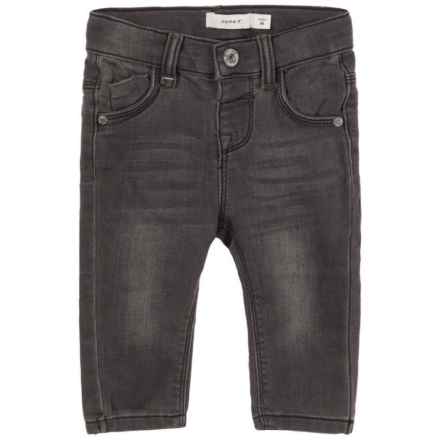 name it Boys Jeans en denim gris foncé
