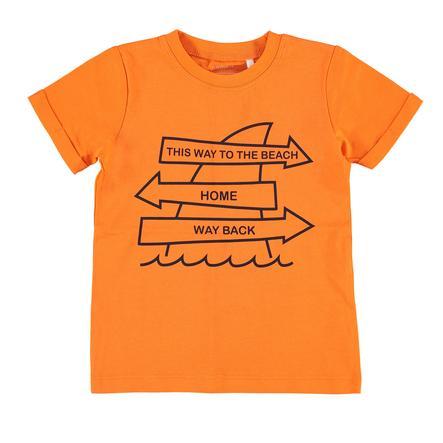 name it Boys T-Shirt Victor shocking orange