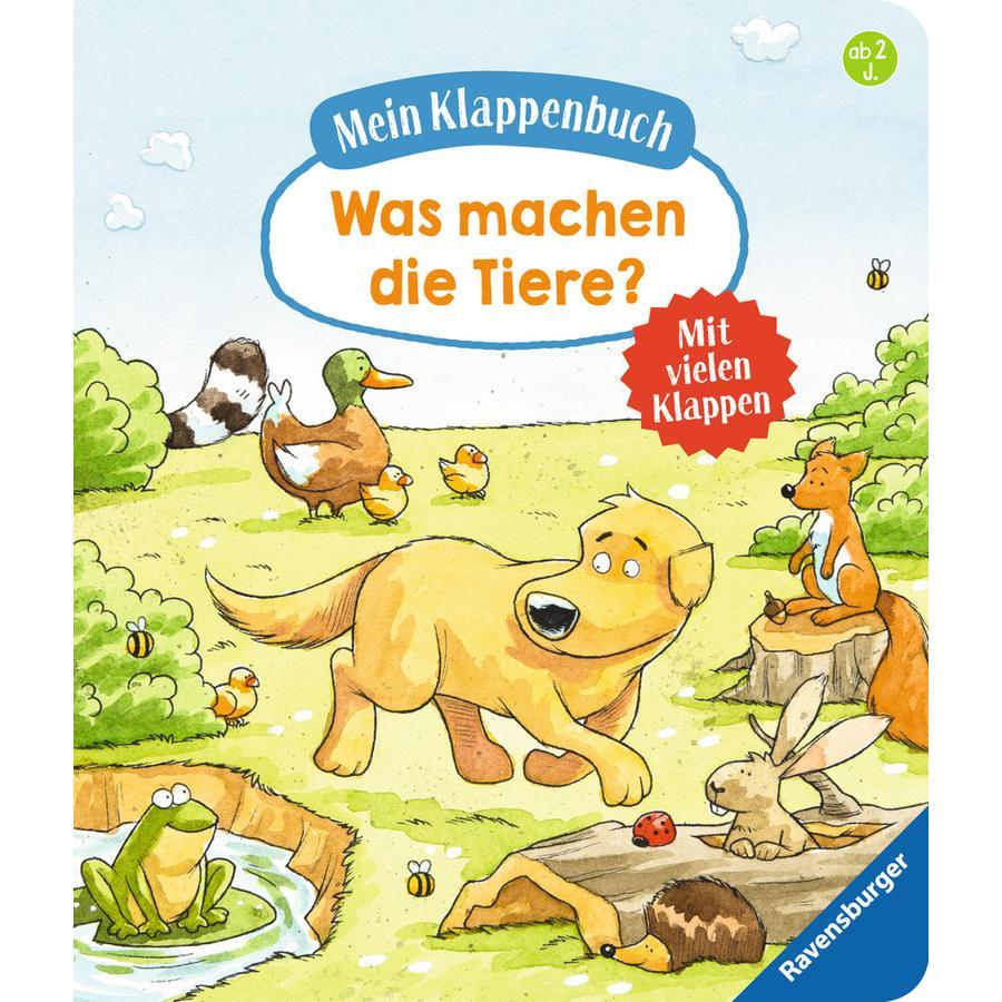 Ravensburger Was machen die Tiere?