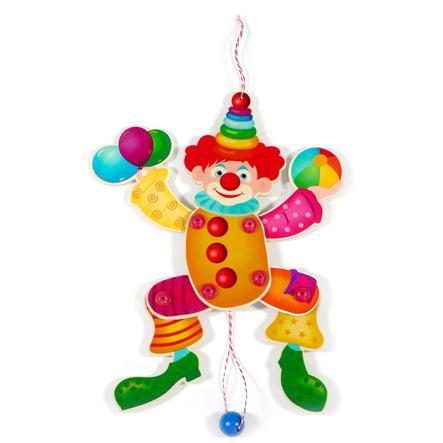HESS Marioneta payaso colorido