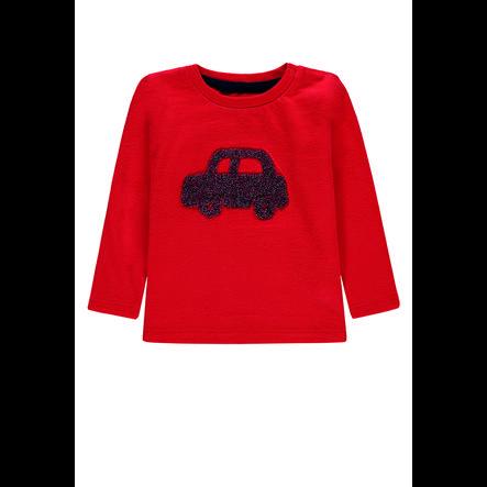 TOM TAILOR Poikien pitkähihainen paita, punainen