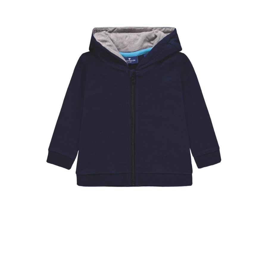 Veste Boys sweat TOM TAILOR, bleue