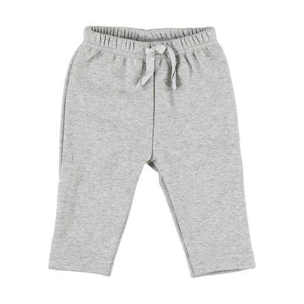 LITTLE Soft Jersey Spodnie w kolorze szarym