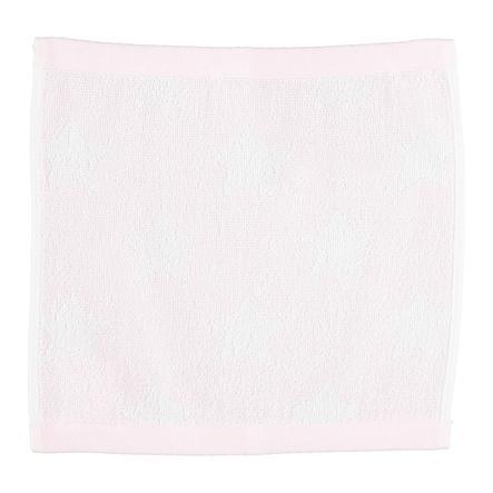 LITTLE Babydoekje badstof 30x30 cm sterretjes roze