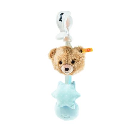 Steiff Schlaf-gut-Bär Kinderwagenspielzeug blau