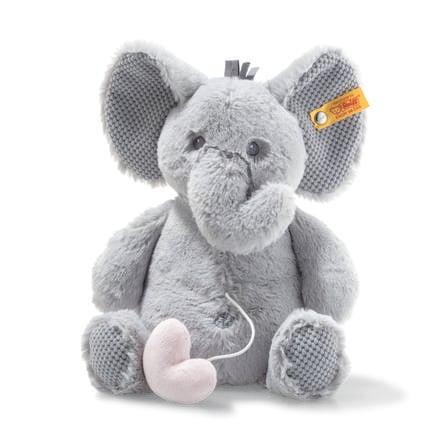 Steiff  Caja Elefant Ellie de música Soft Cuddly Friend s 26 cm