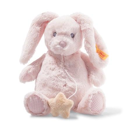 Steiff  Soft Cuddly Friend s music box bunny Belly 26 cm