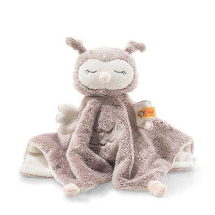 Steiff Soft Cuddly Friends panno coccole gufetto Ollie 26 cm