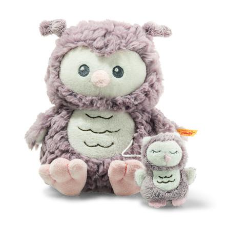 Steiff Musiikkilelu Soft Cuddly Friends Ollie-pöllö 21 cm