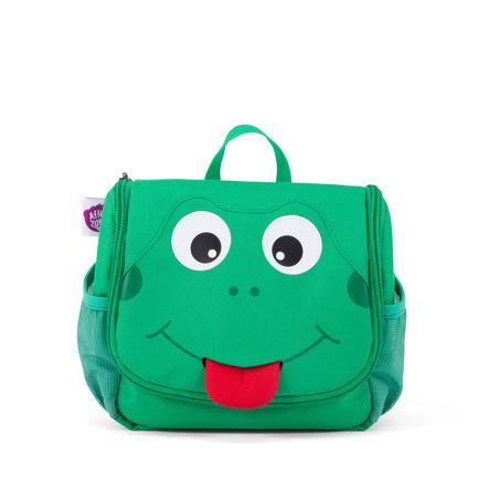 Affenzahn Trousse de toilette Finn la grenouille, vert