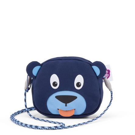 Affenzahn Porte-monnaie Bobo l'ours, bleu