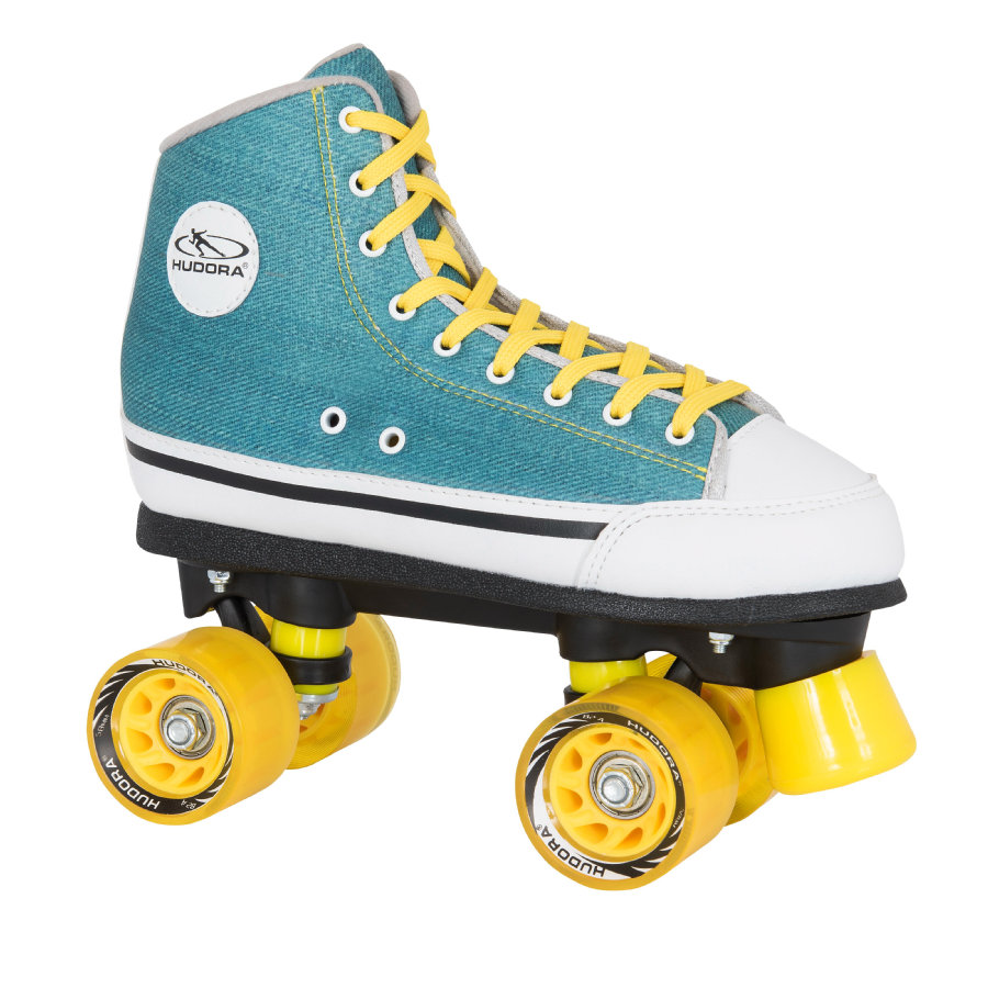 HUDORA® Roller Skates Green Denim
