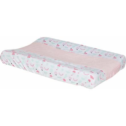 bébé-jou® Overtrekk til stellematte Blush Baby 72 x 44 cm