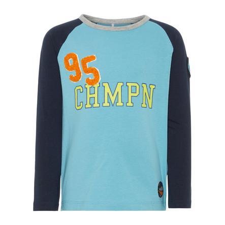 name it Boys Camisa de manga larga Antony delphinium azul