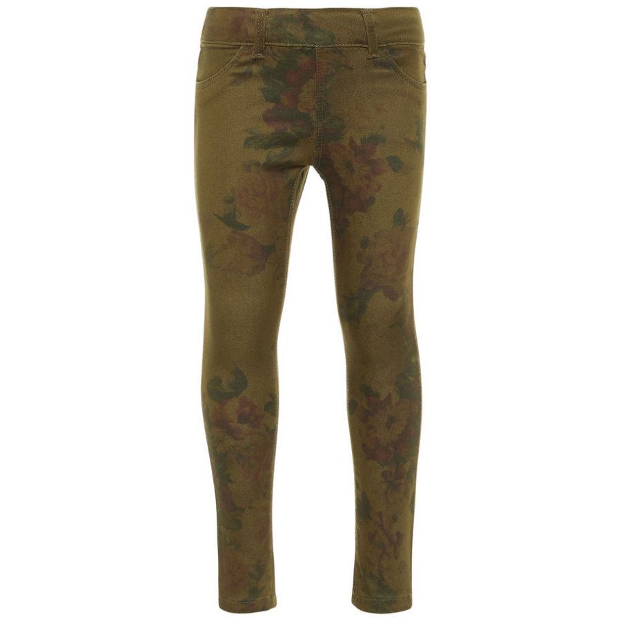 name it Girls Hose Nmfpolly burnt olive