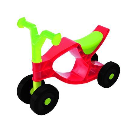 BIG Porteur enfant 4 roues Flippi rouge/vert