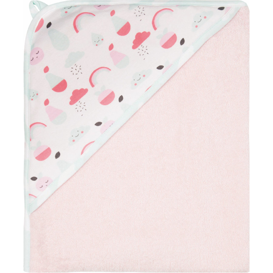 bébé jou® Handdoek met capuchon Blush Baby 85 x 75 cm