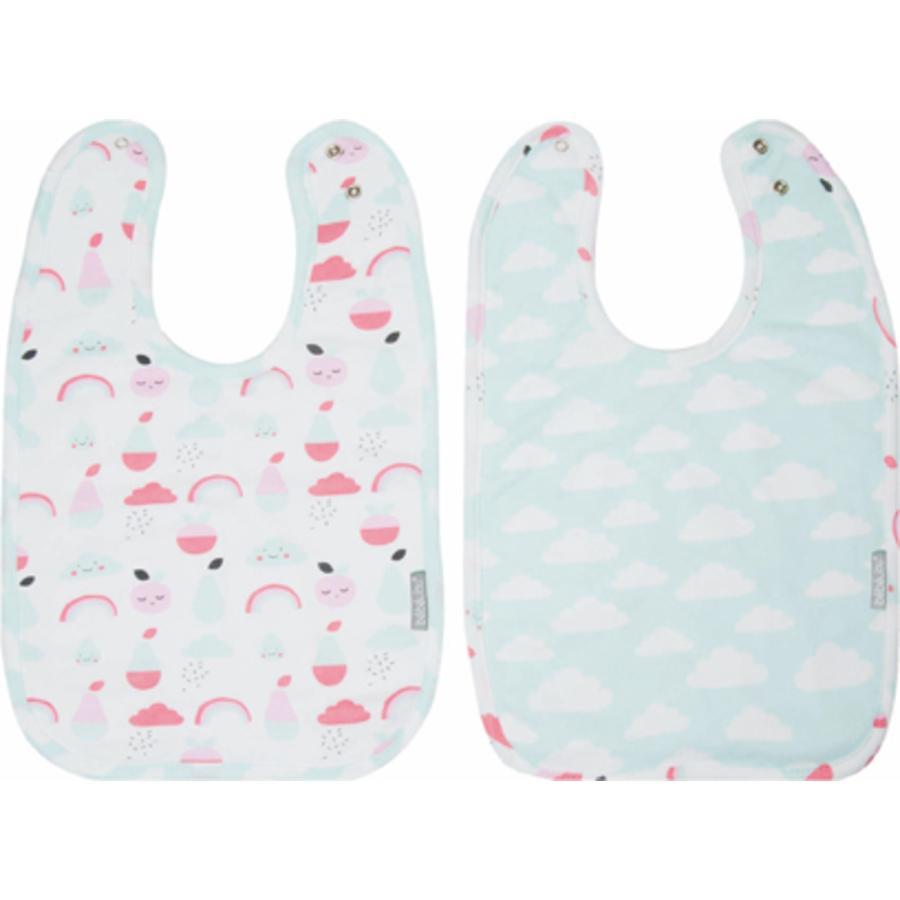 Bavoir Blush bébé jou® Bébé pack de 2