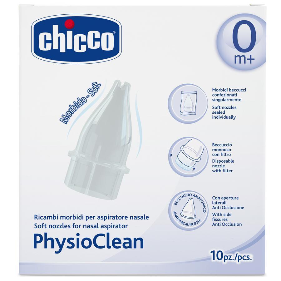CHICCO Ricambi morbidi per aspiratore nasale PhysioClean