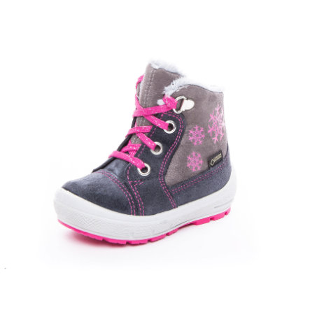 online store 818ec 1ae4a superfit Girls Stiefel Groovy grau/rosa (mittel)