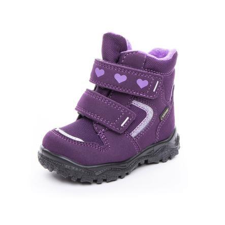 superfit Girl s Boots Husky1 purpurowy (średni)