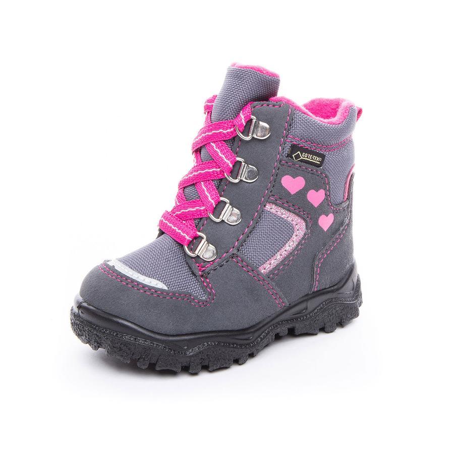 superfit Girl s Boots Husky1 szary/różowy (średni)